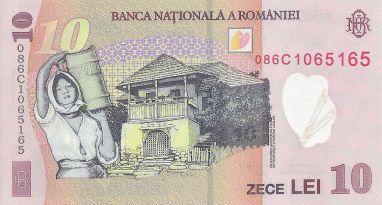 10_lei._Romania,_2008_b