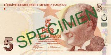 5_Türk_Lirası_front