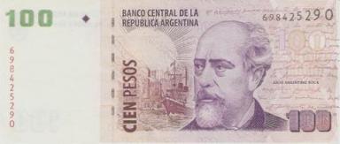 100_Pesos_bill_-_Roca_(Argentina)